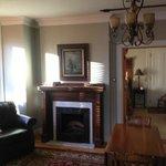 deSmeth Quarters Fireplace-Great Room