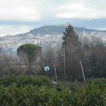 Assisi vista da una camera