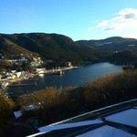 【芦ノ湖棟】3F部屋からの景色(12月末)