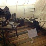 General Lee's headquarter's tent