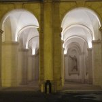 Colonnade at palace entrance