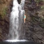 Jump off the second waterfall!