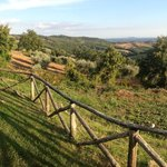 Panorama dall'Agriturismo
