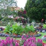 Vivary Parks formal flower garden