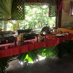 Special buffet for Christmas!