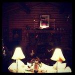 Cozy common room post-Christmas