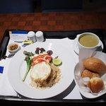 朝食 ルームサービス