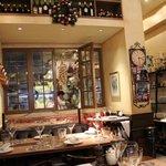 inside Bouchon Bistro Francais