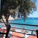 lovely Glikorisa beach