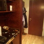 ingresso con mini cucina