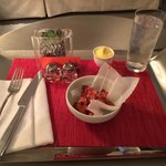 Room service- crab popcorn