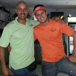The best of the best!! Leo(chef/owner & Ema(bartender/manager)