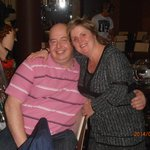 Liz and Dave (Liz organised our little get together)