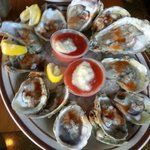 Oysters at King Crab