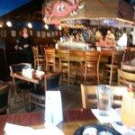 Bar area at King Crab