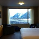 Room with view of Mt Cook