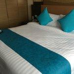 凄き広いベッド