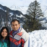 A visit to Solang Valley.