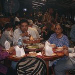 My family enjoying the meal at The Carnivore