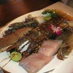 Seafood taeglich frisch keine Produkte von der Zucht