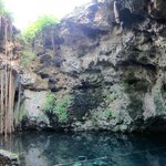 the on-site cenote