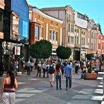 Plovdiv pedestrian street