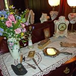 beautifully set table