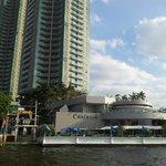 Hotel vom River aus