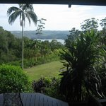 View of Lake Baroon from the deck