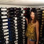 The wine cellar!