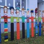 ..von den Kindern in Friedersbach...