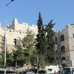 Vistas desde la Puerta de Damasco