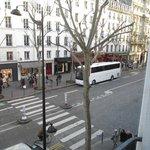 Vue sur la rue Tronchet