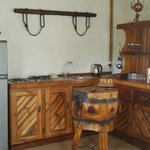 Farmers stall kitchenette