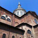Basilica dI San Martino a Magenta, scorcio verso l'alto