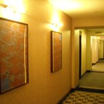 Corridor outside of our room