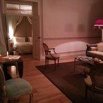 Visão da Sala de estar para o quarto