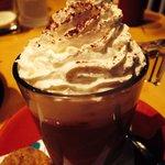 Tiramisu latte. Awesome!