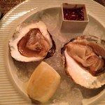 et les huîtres