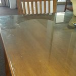 Dirty dining table