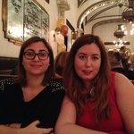 Andrea y Tita , cena en Cafe Callas 1-1-2014