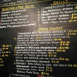 Milecastle Inn menu