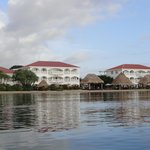 view of resort while we were paddle boarding