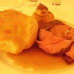 Roast Beef main course