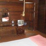 Notre chambre(sdb au fond à droite)
