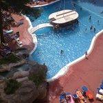 veiw of pool