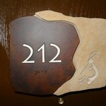 nice room number signs