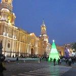 Plaza de Armas vor Weihnachten