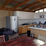 Well equipped kitchen just take all your food. Has a communal fridge but no fridge in room. We t