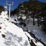 Domaine skiable - Saint Lary Soulan - Remontée du Lac